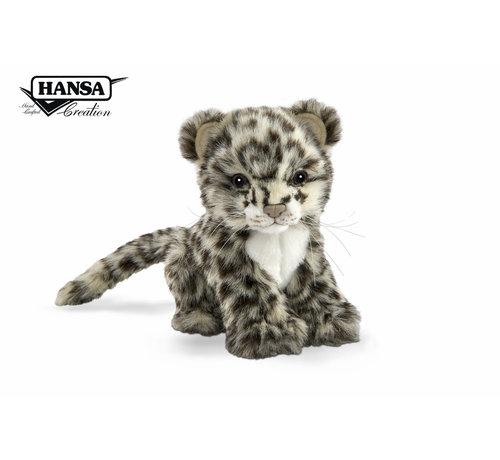 Hansa Cuddly Animal Snow Leopard