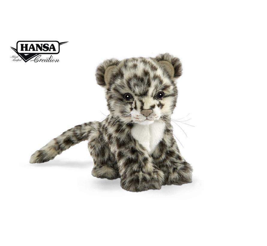 Cuddly Animal Snow Leopard