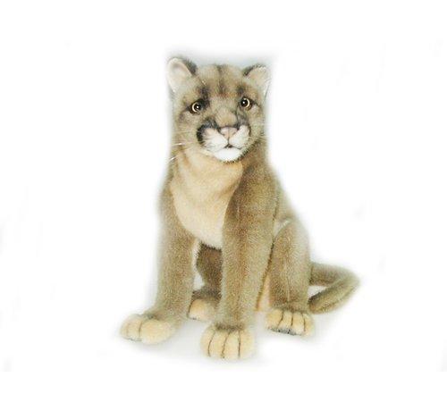 Hansa Cuddly Animal Puma Sitting