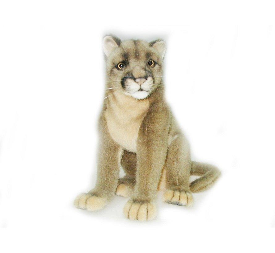 Cuddly Animal Puma Sitting