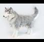Knuffel Hond Husky Staand