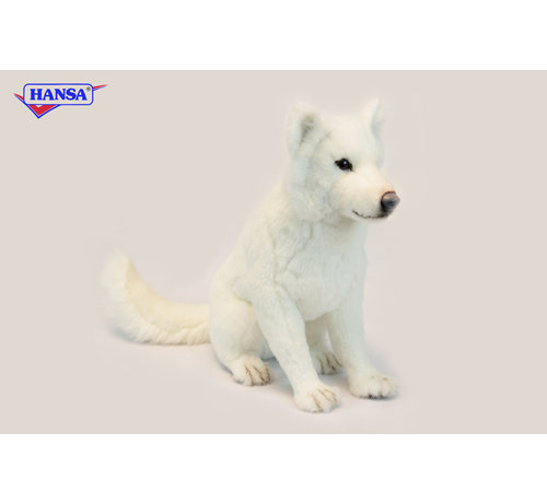 Hansa Cuddly Animal Hokkaido Dog Sitting
