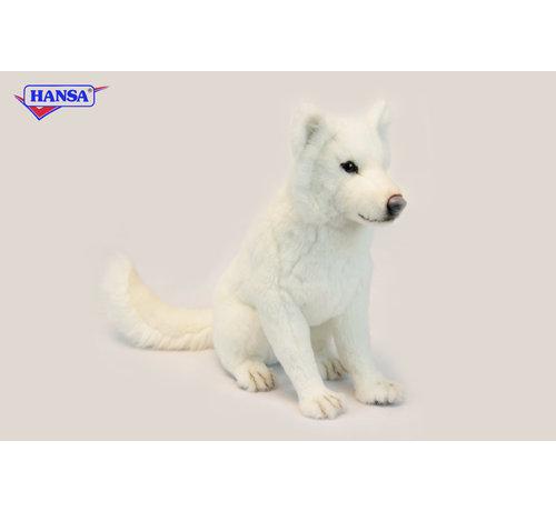 Hansa Knuffel Hond Hokkaido Zittend
