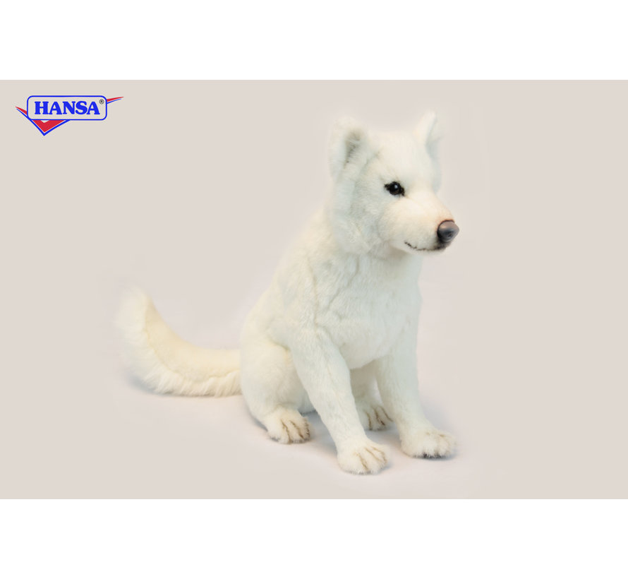 Knuffel Hond Hokkaido Zittend