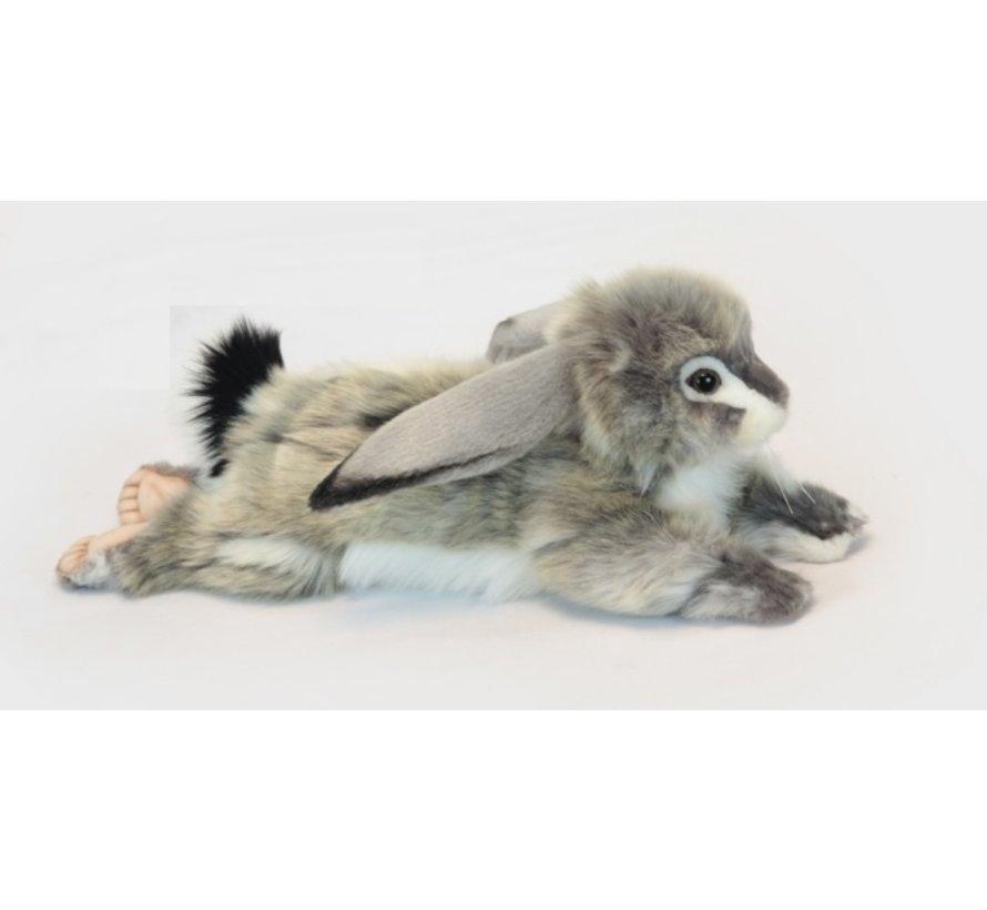 Cuddly Animal Bunny Gray Floppy Ears