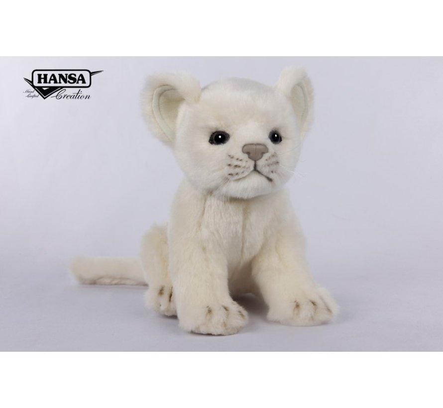 Cuddly Animal Lion Cub White