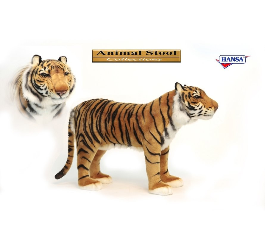Stoolie Tiger Animal Seat