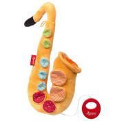 sigikid Muziekknuffel Saxofoon