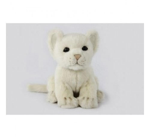Hansa Cuddly Animal Lion Cub White