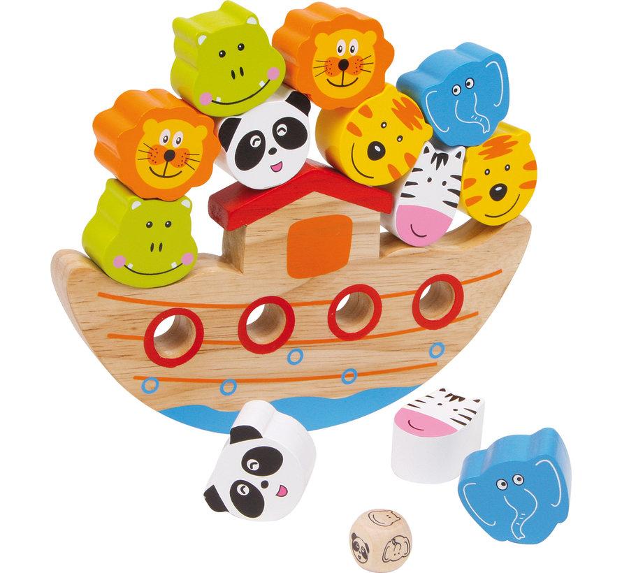 Balanceer Ark Boot Hout