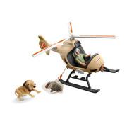 Schleich Helikopter Dierenredding 42476