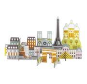 Petit Collage Pop Out - Paris