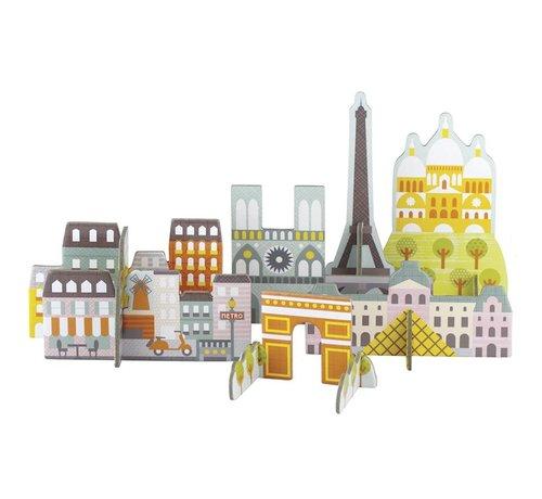 Petit Collage Pop-Out 3D Parijs