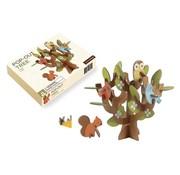 Petit Collage Pop-Out 3D Tree