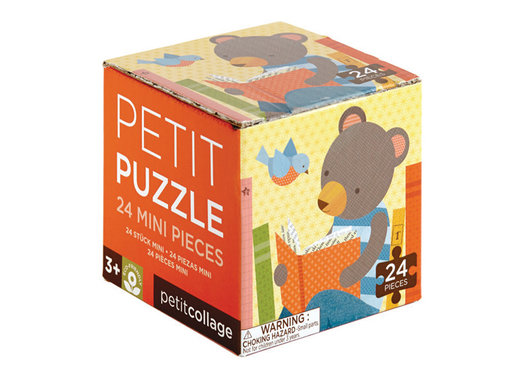 Petit Collage Mini Puzzel Dieren
