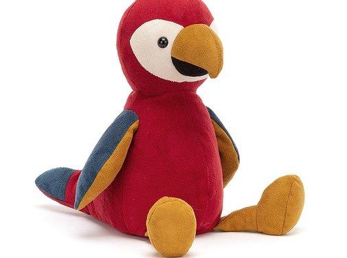 Jellycat Knuffel Papegaai Belby Parrot
