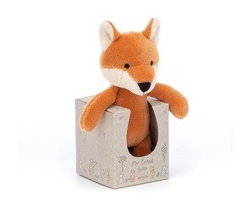 Jellycat Knuffel Vos My Friend Fox Rattle