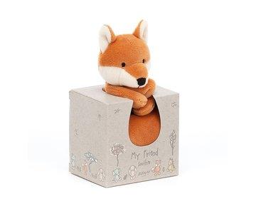Jellycat Knuffeldoek Vos My Friend Fox Soother
