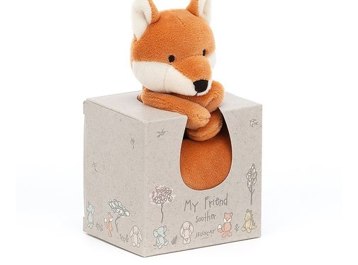 Jellycat Knuffeldoek Vos My Friend Fox Soother