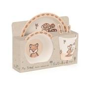 Jellycat Servies My Friend Fox Bamboo Set
