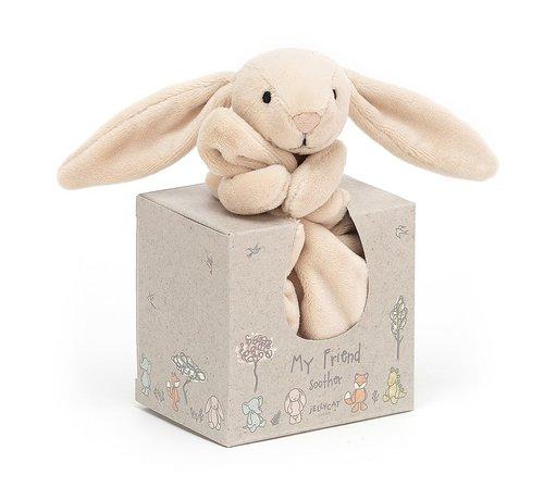 Jellycat Knuffeldoek  Konijn My Friend Bunny Soother