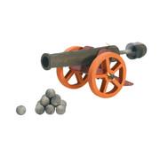 Ostheimer Kanon met Kogels 5540516