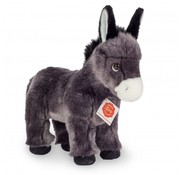 Hermann Teddy Stuffed Animal Donkey Standing 25 cm