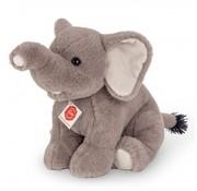Hermann Teddy Stuffed Animal Elephant Sitting 35 cm