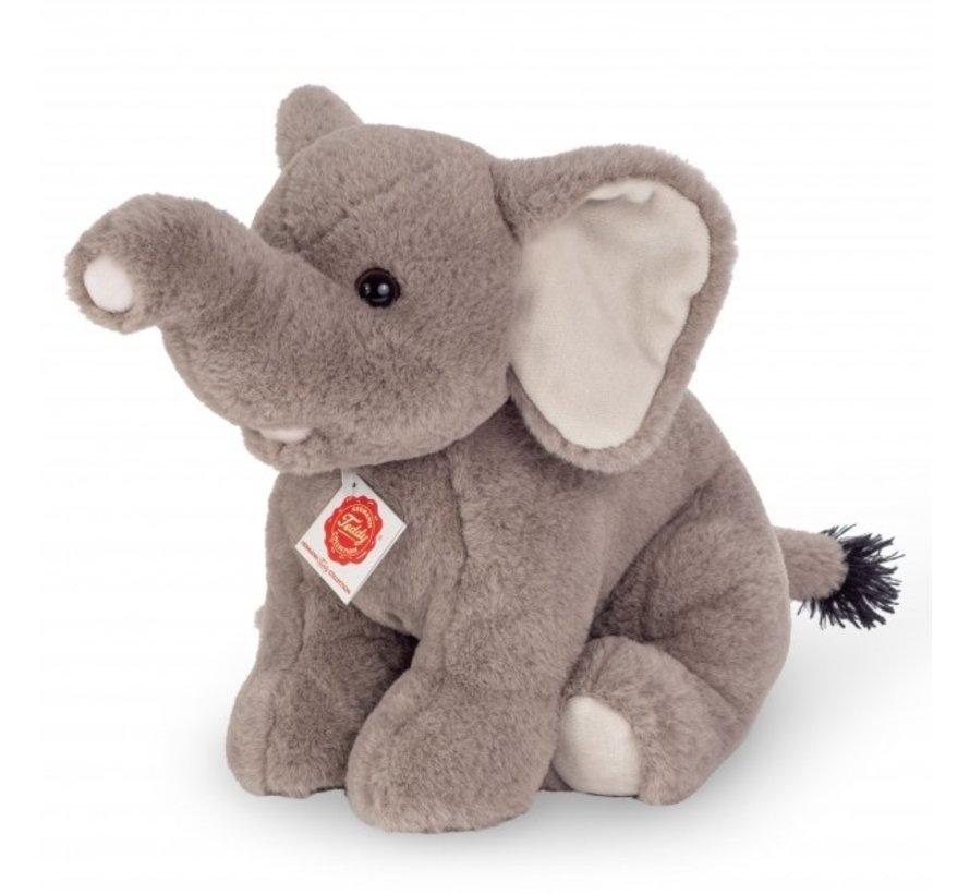 Stuffed Animal Elephant Sitting 35 cm