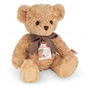 Hermann Teddy Knuffel Teddybeer Beige met Geluid