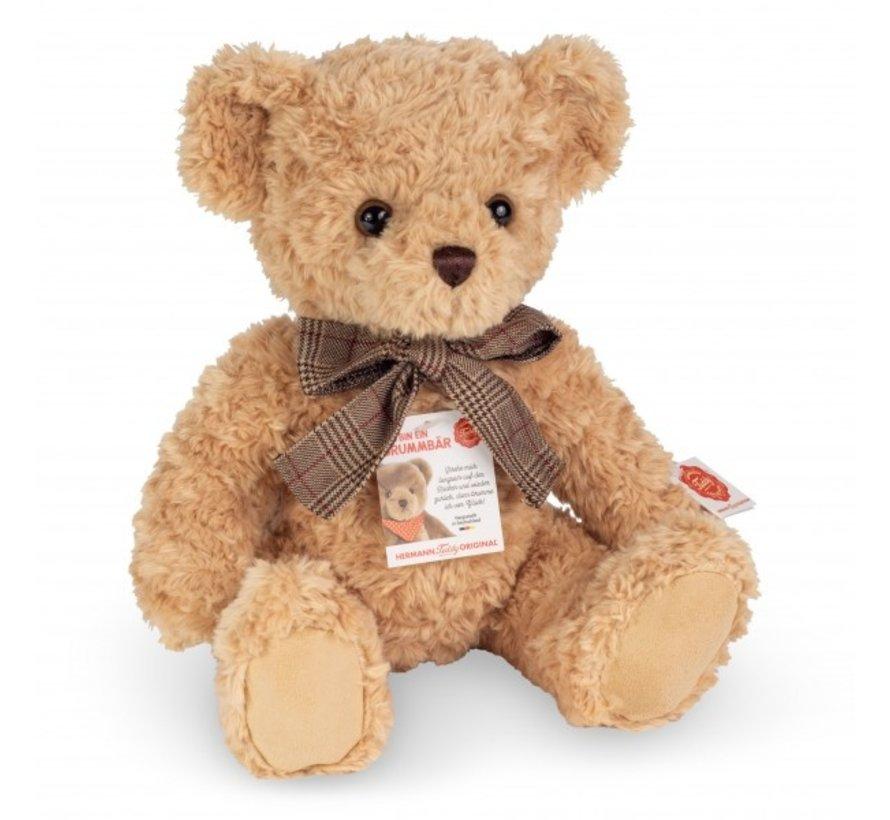 Knuffel Teddybeer Beige met Geluid