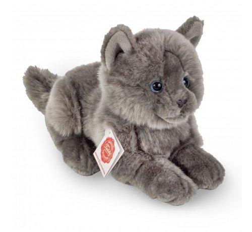 Hermann Teddy Stuffed Animal Cat Chartreux