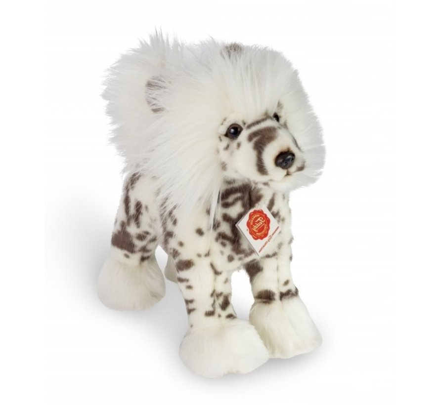 Stuffed Animal Crested Dog