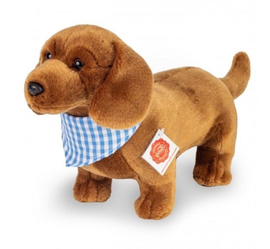 Knuffel Hond Teckel Staand