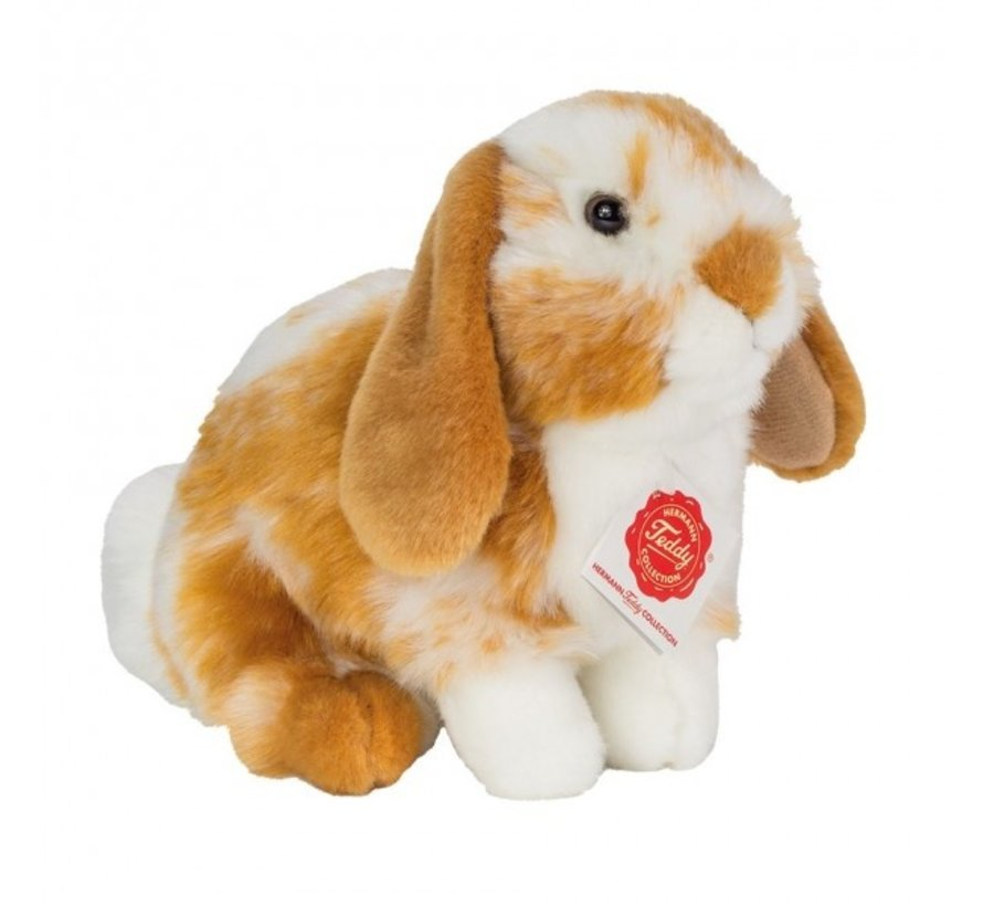 Stuffed Animal Hare Sitting Brown