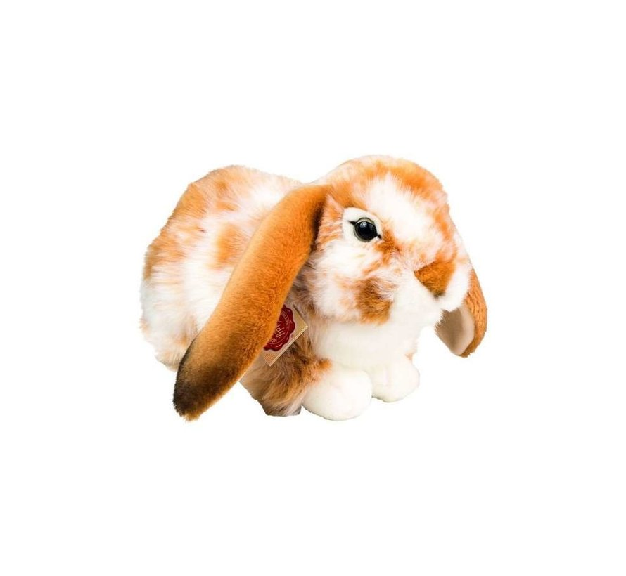 Stuffed Animal Rabbit Brown White