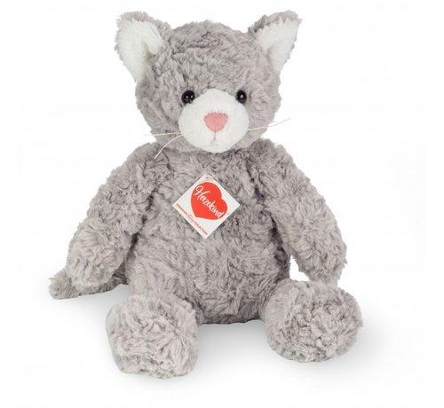 Hermann Teddy Stuffed Animal Cat Minou 33 cm