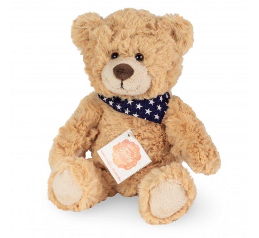 Knuffel Teddy 23 cm Beige of Bruin