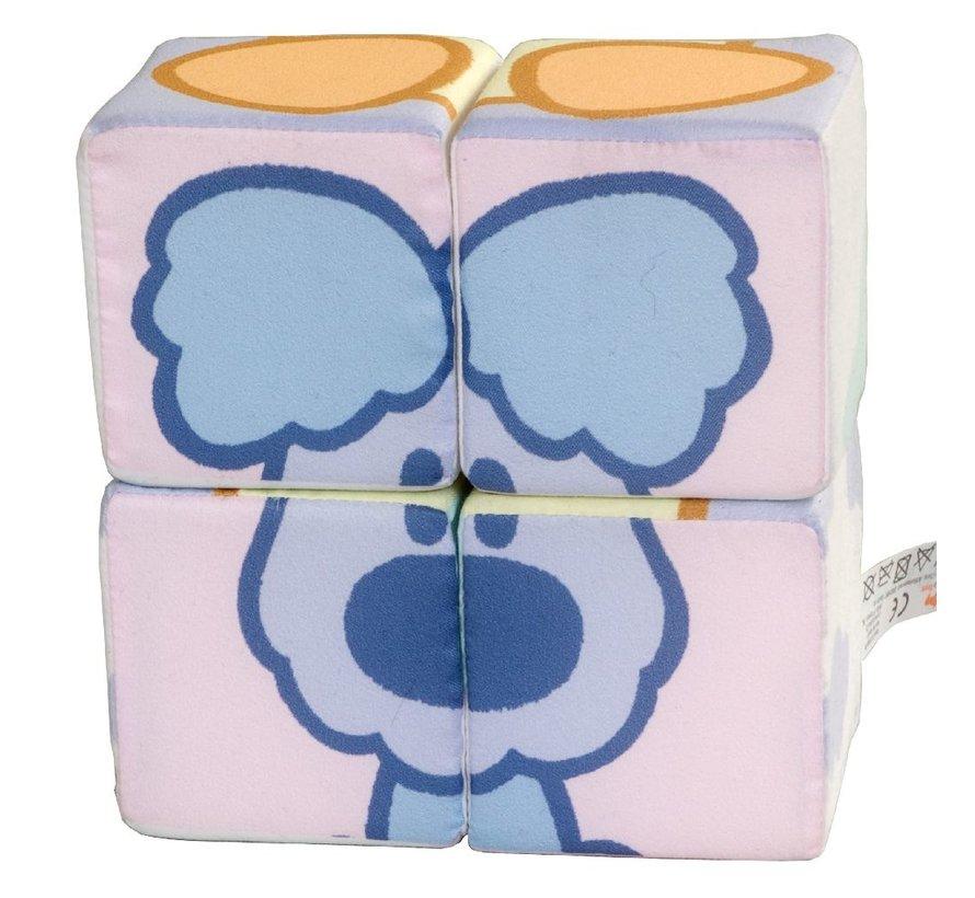 Baby Stoffen Blokken Puzzel