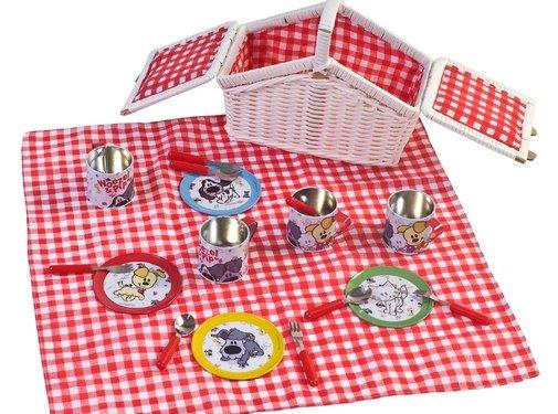Woezel en Pip Picknickset