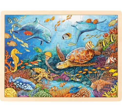GOKI Puzzel Great Barrier Reef 96-pcs
