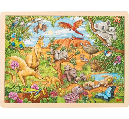 GOKI Puzzle Australian Animals