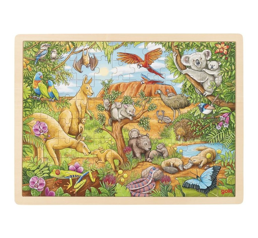 Puzzle Australian Animals