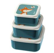 sigikid Three-piece set lunchbox fox