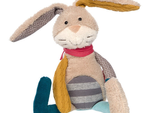 sigikid Stuffed Animal Patchwork Sweety Rabbit