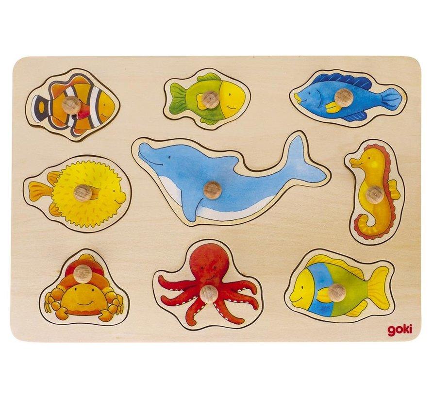 Knoppuzzel Zeedieren