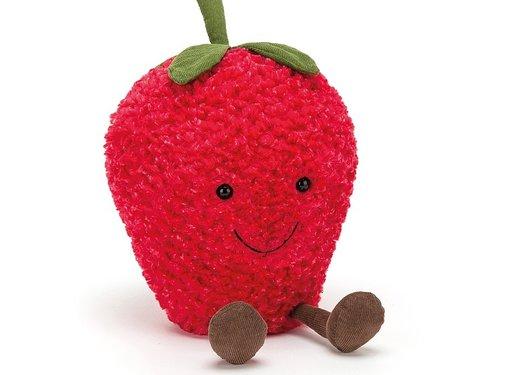 Jellycat Knuffel Fruit Amuseable Aardbei