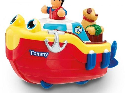 Wow Toys Sleepboot Tommy Tug Boat