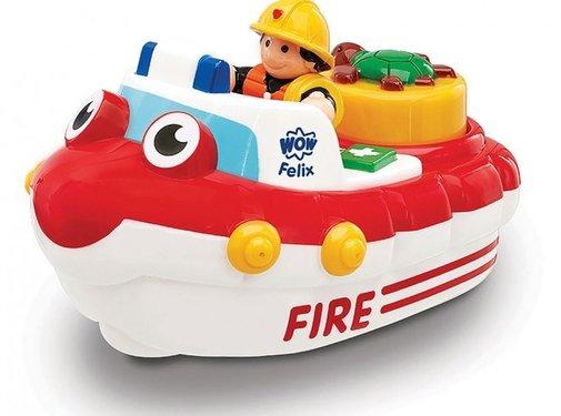 Wow Toys Brandweerboot Felix Fireboat