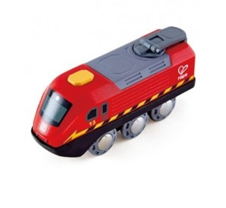 Crank Powered Train